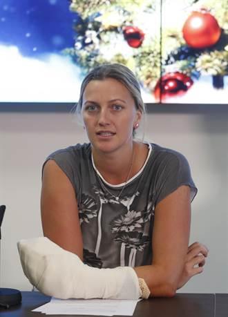 網球》手腕被砍傷 捷克美女拚法網復出