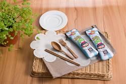 台灣年用45億雙免洗筷!拉亞漢堡推可分解「稻殼筷」