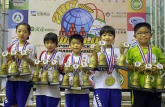 世界競技疊杯賽台灣奪45金 金牌數各國最多
