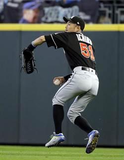 MLB》移防左外野 鈴木一朗在馬林魚曾「跑錯路」