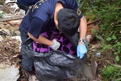 寶山水庫坡地垃圾案偵破 1男子到案
