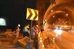 16個月5起車禍 蘇花錦文隧道危險路段設警示牌