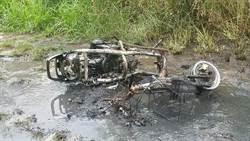 男子疑自焚 燒傷面積超過60%