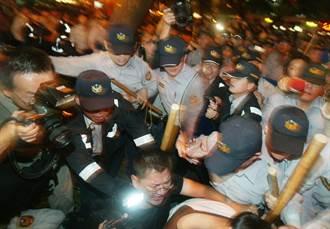 暴力小英譴責反年改暴力 網友諷:就像童仲彥代言反家暴