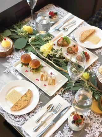 室內野餐夯 台限定「PRIMAVERA春日花園雙人午茶」來了