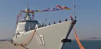 大陸新軍艦實彈演練 靠近朝鮮半島