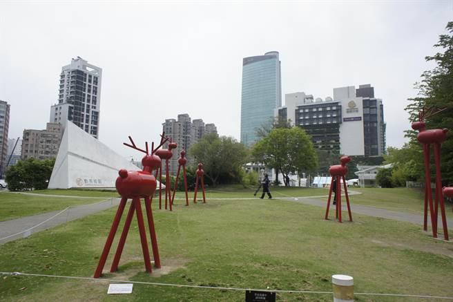 台中勤美洲際飯店將以目前勤美術館、廣達2千坪土地做開發基地。(馮惠宜攝)