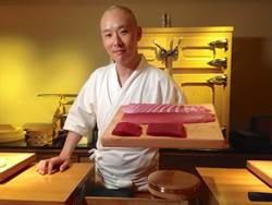 佐藤博之來台 呈現夢幻溫海膽壽司