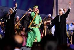 精采絕倫!藝術家齊聚埃及國際鼓樂節