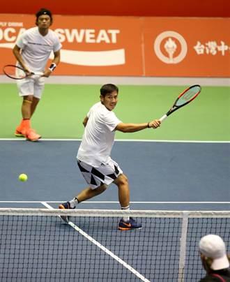澳網外卡賽》擊敗海峽組合 「胖鵬配」男雙進8強