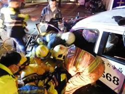 中市警局4警追捕犯人釀追撞 3傷1命危
