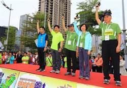 財政部統一發票盃路跑1萬2千人中市府開跑募集30萬張發票捐社福團體