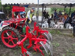 花蓮農改場推附掛式除草機 除草效率快4倍