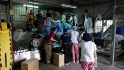 麵條工廠工人左前臂絞入製麵機 醫護現場麻醉截肢