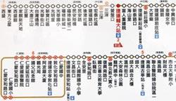 公車路線圖改版 比照捷運標示