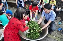 百年老校茶交流 自製茶品牌振興茶鄉
