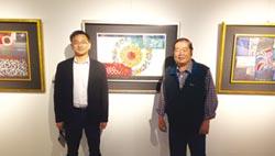 林哲文現代畫創作展 宜蘭文化局展至5月3日