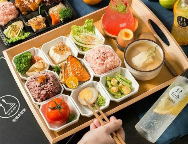 肉類主食分別就已經有七款類型,有雞、有豬、還有魚跟鴨,甚至還有所謂的神秘「食驗新品」。(圖/FB@吾獨食驗室 Woo Doo Food Lab)