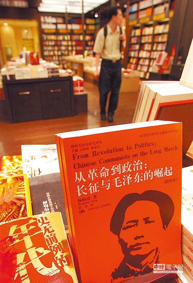 簡體書在台灣已榮景不在。(本報系資料照片)