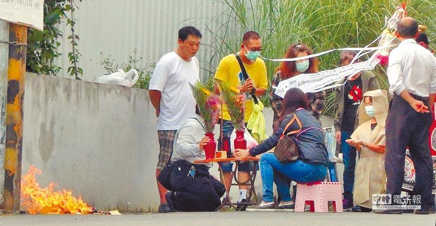 高雄鳥松農會陳姓代表去年4月遇襲被人砍斷手臂,斷肢還被帶走。(中時資料照)