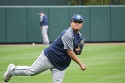 MLB》隊友有喜事告假 胡智為返大聯盟