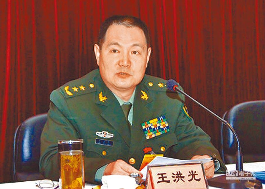 解放軍退役中將王洪光。(取自鳳凰網)