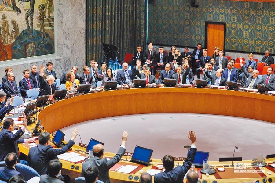 3月23日,聯合國安理會討論將北韓制裁委員會專家小組的任期延長至2018年。(中新社)