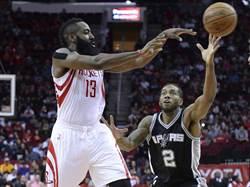 NBA》三分彈如雨下 火箭轟垮馬刺搶頭彩