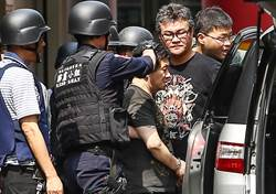 與警駁火後棄械投降 劉邦誠遭移送飆罵記者