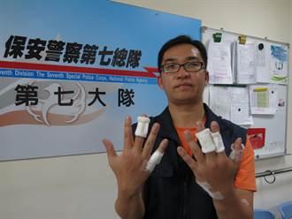 越南山老鼠組團盜木 警掛彩負傷逮捕