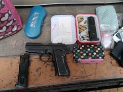 警獲報處理糾紛  意外查改造槍枝、毒品