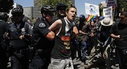 美國五一勞動節 各城市遊行反川普