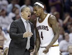NBA》G3騎士考慮變陣 豪哥前隊友先發?