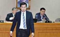 綠委不滿召委江啟臣遲到 國防委員會提散會動議