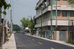 道路施工引堵塞 協志工商南側道路拓寬工程完工