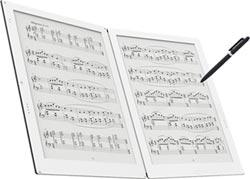 元太攜手日商Terrada 推雙螢幕電子紙樂譜