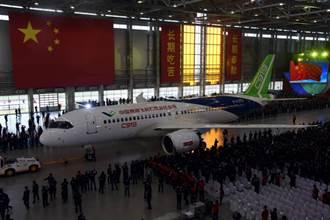陸自製C919客機 將於本月5日首度試飛