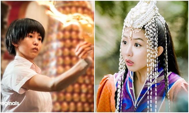 瑤瑤卸下通靈少女身份變刁蠻公主。(取材網路、京騰提供)