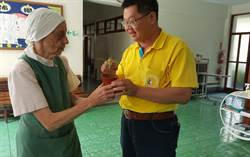 捐款聖十字架療養院 桃實百日青苗回贈