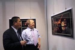 全台唯一乾隆皇帝敕建新祖宮攝影家 用影像記錄謁祖進香