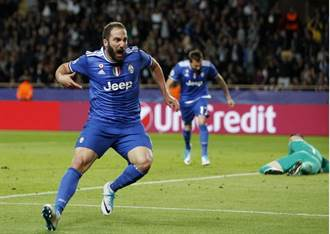 歐冠連621分鐘無失球 尤文4強先勝摩納哥