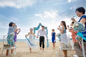 三亞熱帶婚禮季 台灣新人88折優惠