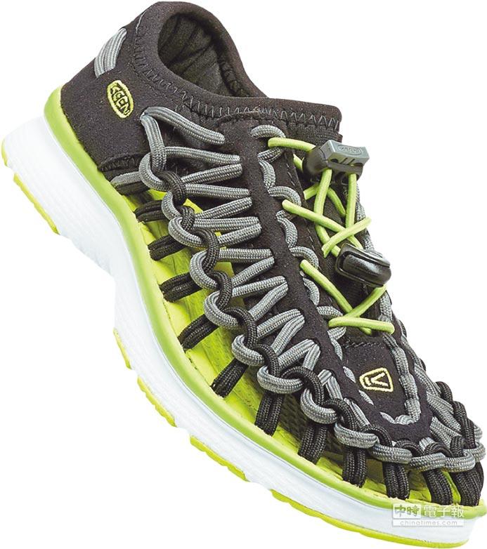 首度登場的KEEN UNEEK O2系列囊括童鞋款,且採運動鞋款式,更為實穿,2280元。