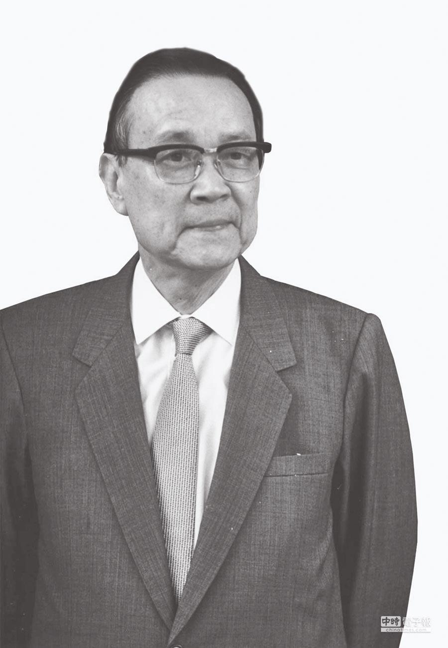 前外交部長沈昌煥。(本報系資料照片)