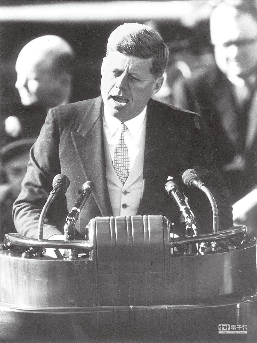 前美國總統甘迺迪。(本報系資料照片)