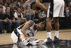 NBA》馬刺傳噩耗 帕克確定整季報銷