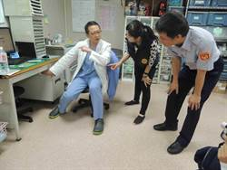 防制急診暴力 警到醫院教防身術