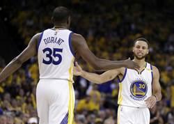 NBA》勇士再展強勢 3人得分破20擊退爵士