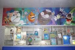 金美國小百合工坊開幕 學童動手彩繪、琉璃窯燒