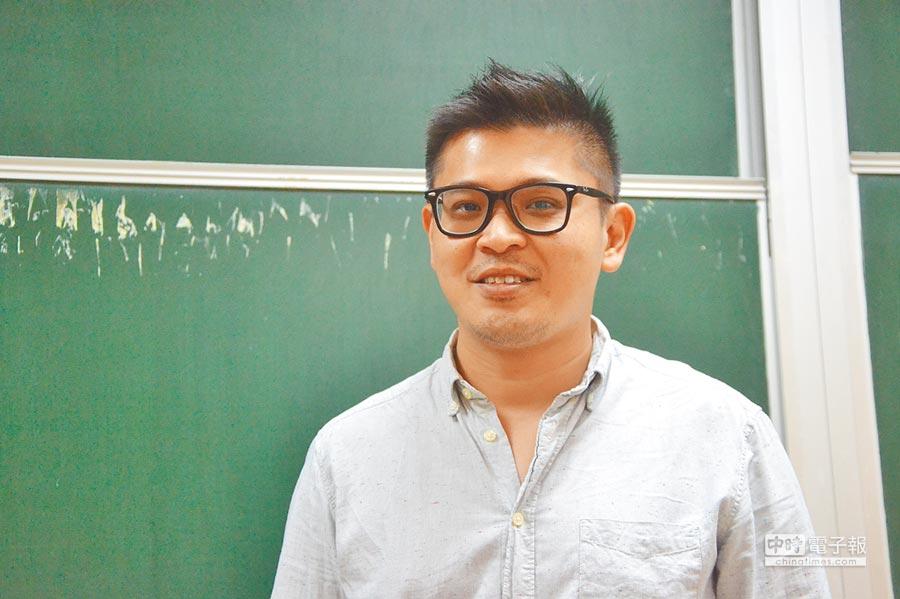 愛駒資訊有限公司執行長劉冠宏。(記者林怡宣攝)